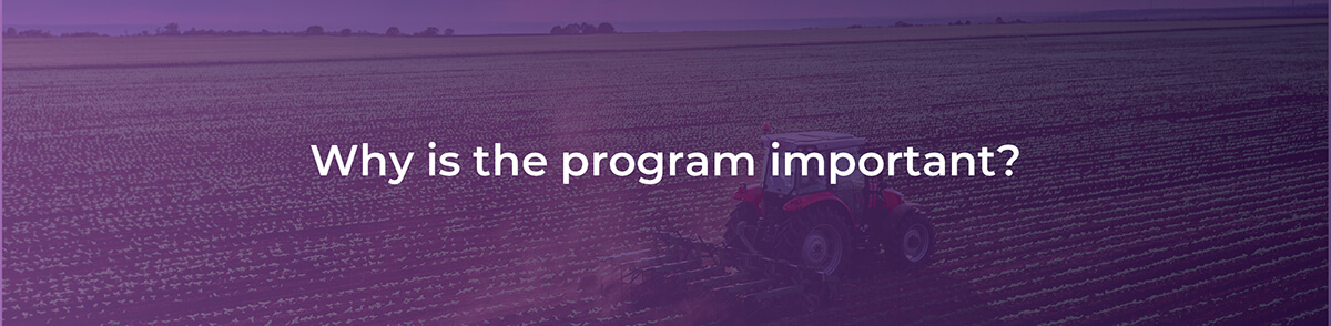 Why is the program important?