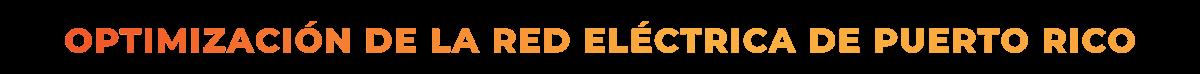 Optimizacion de la red electrica